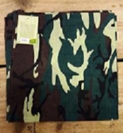 Bandana camouflage Groen (10162P)