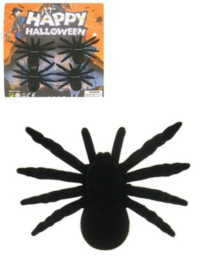 Spinnen 4 stuks - 10 cm (85017P)