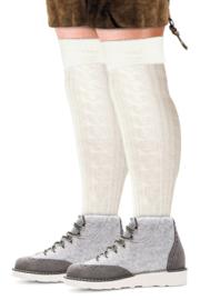 Tiroler sokken Wit - maat 39/42 (11192P)