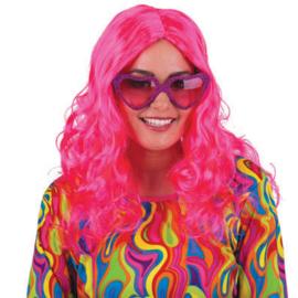 Pruik Dance Parade Pink (57355E)