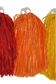 Pom pom cheerleader oranje Luxe (53125E)