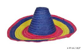 Mexicaanse hoed - sombrero (62247E)