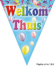 Vlaggenlijn Welkom Thuis - 5 meter (84018E)