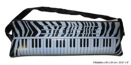 Keyboard opblaasbaar - 60 cm (56219E)