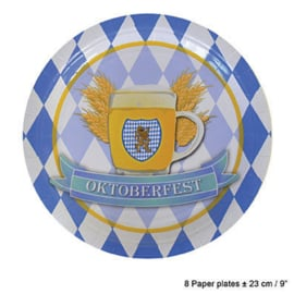 Bordjes Oktoberfest / Bierfeest (84368E)