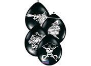 Ballonnen Piraten  - 8 stuks (08237F)