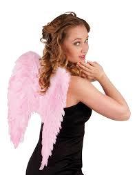 Vleugels engel Roze - 50 cm (52825B)