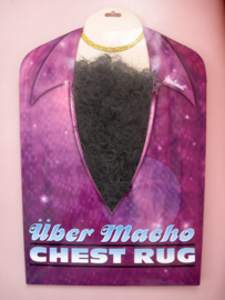 Macho nep borsthaar Zwart (57662E)