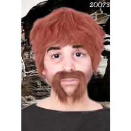 Snor Macho Bruin (20073P)
