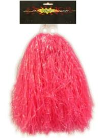 Pom pom cheerleader roze (84692P)