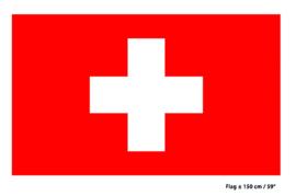 Vlag Zwitserland - 90 x 150 cm (62250E)