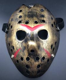 Masker Jason Voorhees Goud (1965GF)