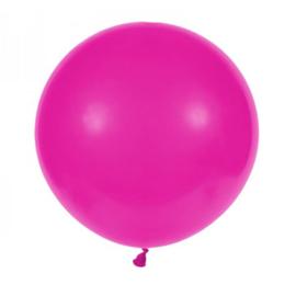 """Pastel Hot Pink/Fuchsia 1 stuks 19"""" (PT150/02)"""