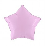 "Folie Ster 18"" - Baby Roze / Pink"