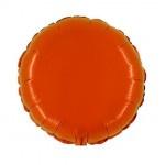 """Folie Rond 18"""" - Oranje"""