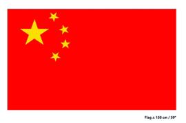 Vlag China - 90 x 150 cm (62284E)