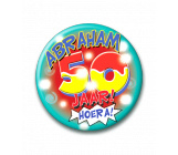Button 50 jaar Abraham