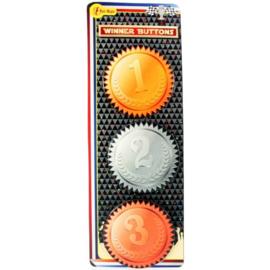 Buttons, 1e, 2e en 3e prijs (50202 GF)