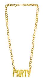 Gouden ketting Party (53783E)