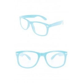 Blues Brother bril Turquoise (30322P)