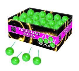 Knetter ballen / crackling balls - 50 stuks Cat. F1 (0907BR) CONSUMENTEN AFHALEN
