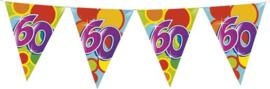 Vlaggenlijn ballonnen leeftijd 60 jaar (10 meter)