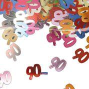 Tafelconfetti - sierconfetti - 90 jaar (05322F)