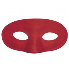 Ovaal oogmasker Rood - 16 cm (0999GF)
