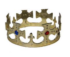 Koningskroon goud verstelbaar (53060E)
