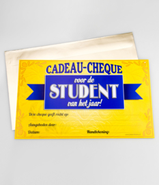 Cadeau-cheque STUDENT (37PD)