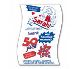 Toiletpapier 50 jaar SARAH