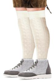 Tiroler sokken Ecru - maat 39/42 (11194P)