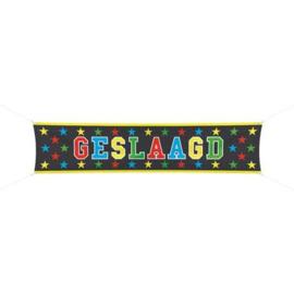 Banner / spandoek Geslaags -  180 x 40 cm (63511F)