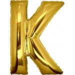 Folie Letter K - 100 cm Goud