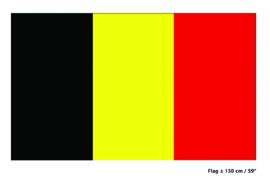 Vlag België - 90 x 150 cm (62156E)