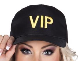 Cap VIP zwart - verstelbaar (44192B)
