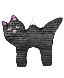 Pinata Zwarte Kat / Black Cat  58 cm (30925B)
