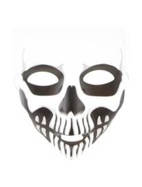 Masker doodshoofd (61914E)