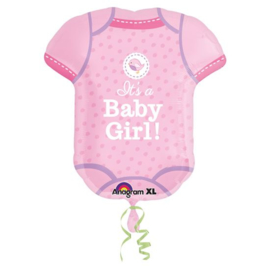 Baby Shower Girl SuperShape (AM3091101)