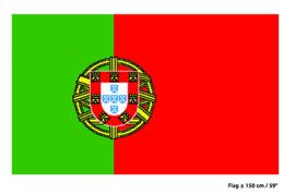 Vlag Portugal - 90 x 150 cm (62255E)