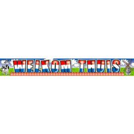 Folie banner Welkom Thuis - 5 meter (07427F)