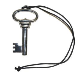 Nekkoord met zilverkleurige sleutel  (53322E)