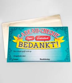 Cadeau-cheque BEDANKT! (31PD)