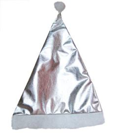 Zilveren kerstmuts (90051E)