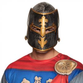 Helm ridder / kruisvaarder zilverkleurig (44043B)