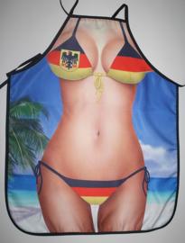Keukenschort - Duitse bikini (302GF)