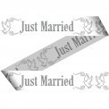Afzetlint Just married (21076FU)