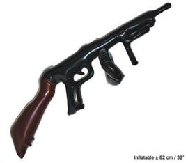 Machinegeweer opblaasbaar - 82 cm (51207E)
