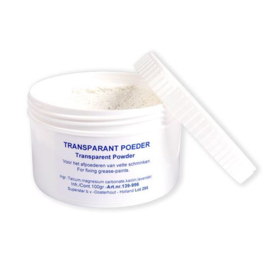 Transparantpoeder - 100 gram (S139-997W)