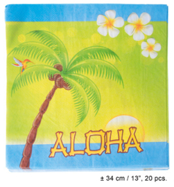 Servetten Aloha Hawaii (62571E)